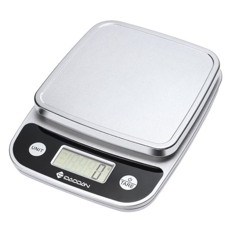 Digital Food Scale, [5000g, 1g] IDAODAN Versatile Kitchen Scales, Accurate  Weight Scale for Coffee, Gram, Postal, Elegant Black