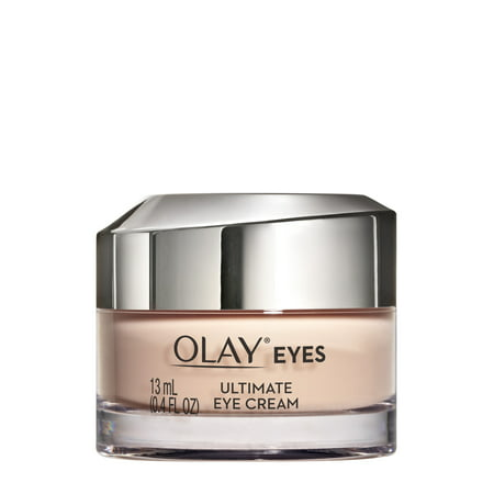Olay Ultimate Eye Cream for Wrinkles, Puffy Eyes + Dark Circles, 0.4 fl (Best Eye Cream For Fine Lines And Puffiness)