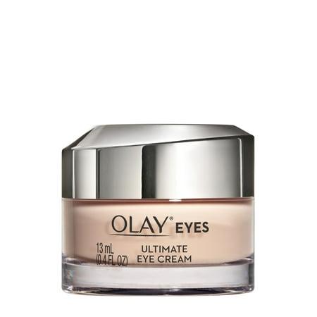 Olay Ultimate Eye Cream for Wrinkles, Puffy Eyes + Dark Circles, 0.4 fl (Vine Vera Resveratrol Dark Circle Eye Cream)