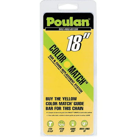 Poulan 18 inch Replacement Chainsaw Chain