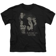 The Munsters - American Gothic - Youth Short Sleeve Shirt - X-Large