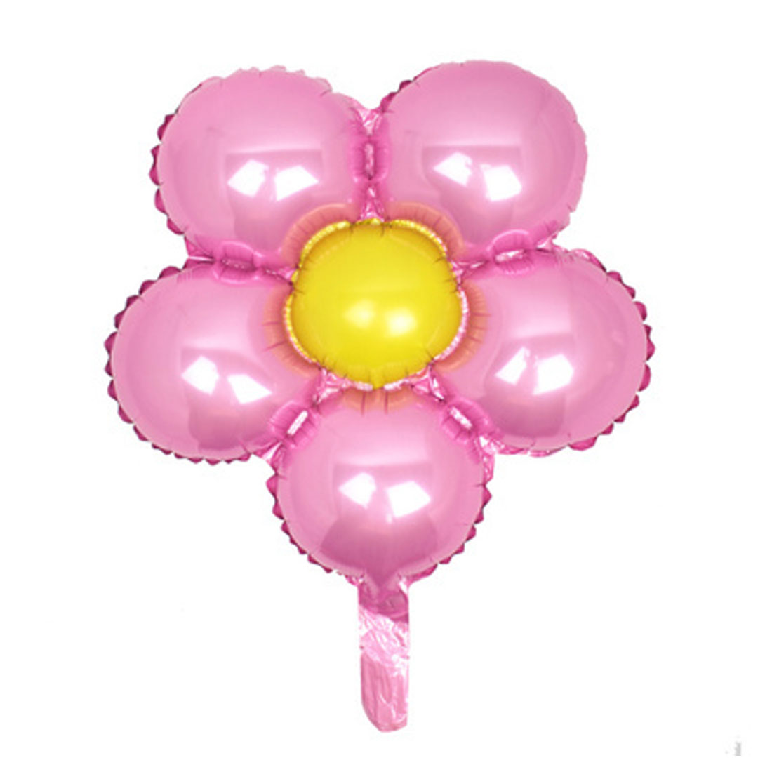 Foil Flower Design Balloon Wedding Party Birthday Decoration Pink Yellow 18""