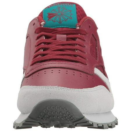 8ec32b98cca Reebok Men s CL Leather Grey Fashion Sneaker - image 1 ...