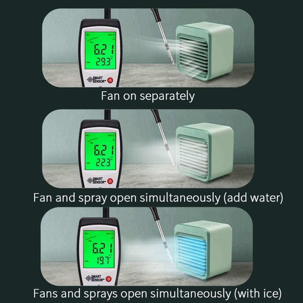 2020 Rechargeable Water-cooled Air Conditioner Can Be Used Outdoors Portable Fan