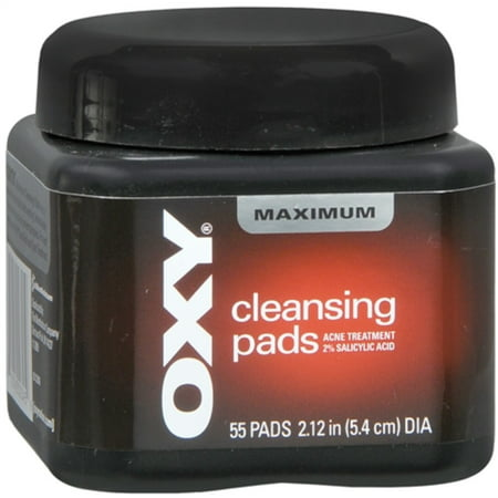OXY Maximum Cleansing Pads 55 Each (Pack of 2) ()