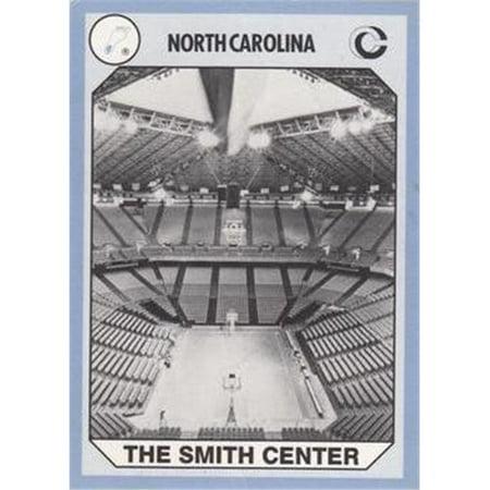 Tar Heels The Smith Center Basketball Card (North Carolina) 1990 Collegiate Collection No.199