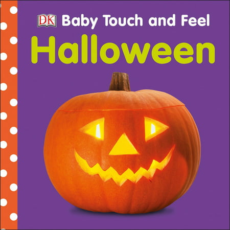 Baby Touch & Feel: Halloween (Board Book) - Halloween Board Books For Toddlers