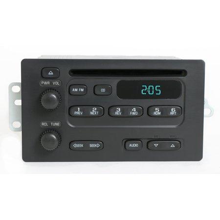 Chevy Express Van 2003-07 GMC Savana Radio AM FM CD Player Part Number 93801884 - Refurbished