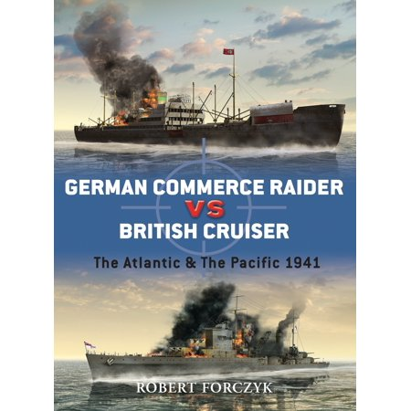 German Commerce Raider vs British Cruiser : The Atlantic & The Pacific (German Cruiser)