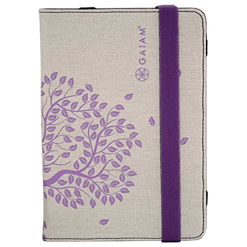 Gaiam 30797 Carrying Case [folio] For Ipad Mini - Slip Resistant, Scratch Resistant - Canvas - Tree Of Life