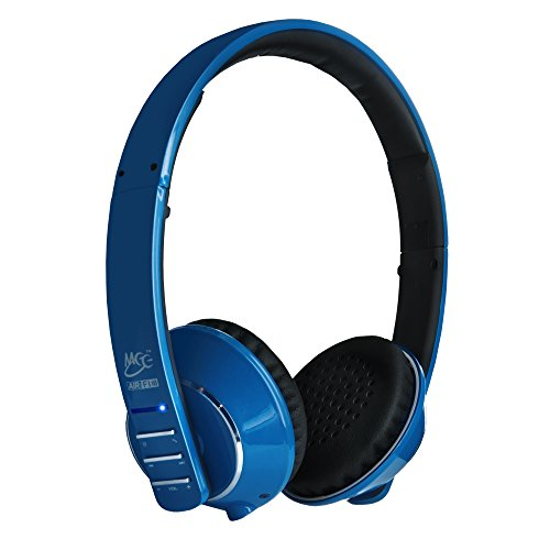MEE audio Runaway 4.0 Bluetooth Stereo Wireless + Wired Headphones with Microphone (Blue)