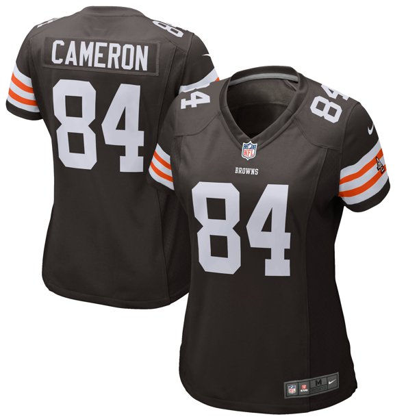 Jordan Cameron Cleveland Browns Historic Logo Nike Women's Game Jersey - Brown