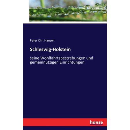 Schleswig-Holstein : seine Wohlfahrtsbestrebungen und gemeinnützigen Einrichtungen (Paperback)