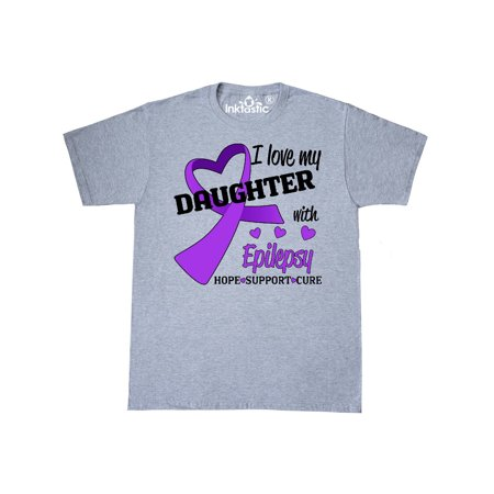 I Love my Daughter with Epilepsy Hope, Support, Cure T-Shirt