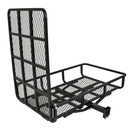 Best Choice Products Electric Wheelchair Scooter Mobility Carrier Rack for Disability Medical Ramp - Black (Chair Carrier)