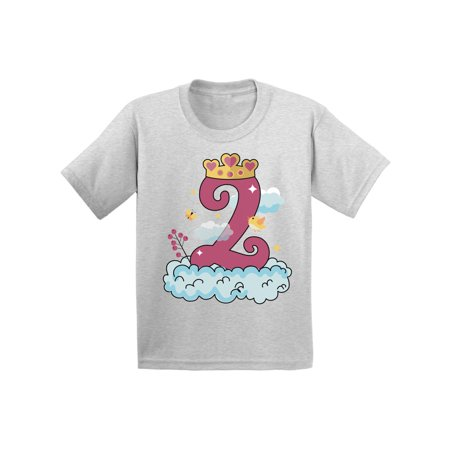 Awkward Styles Princess Infant Shirt Birthday Girl Tshirt Princess Birthday Party for Baby Girl Princess Gifts for 2 Year Old Girl Princess Party 2nd Birthday Party Outfit Girls Birthday Shirt - Gifts For 2 Year Olds Girl