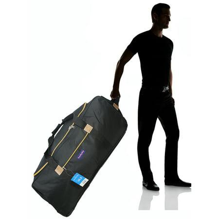 BoardingBlue Airlines  Rolling 50LB Duffel Bag w linear size 62