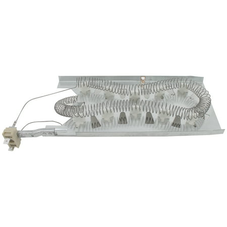 3387747 Dryer Heating Element & 279769 Thermal Cut-Off Kit Replacement for Kenmore / Sears 11096592430 Dryer - Compatible with WP3387747 & 279769 Heater Element & Thermal Fuse Kit - image 4 de 4