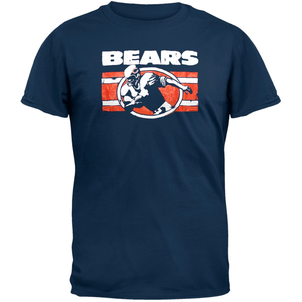 Chicago Bears - Action Crackle Soft T-Shirt