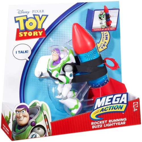 Disney Toy Story Rocket Running Buzz Lightyear Action Figure