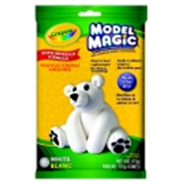 Crayola Model Magic Non-Toxic Mess-Free Modeling Dough - 2 Lbs. - White