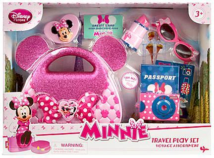 Disney Minnie Mouse Travel Play Set Playset by