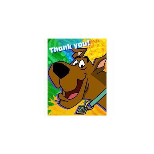 Hallmark 222038 Scooby-Doo Mod Mystery Thank-You Notes