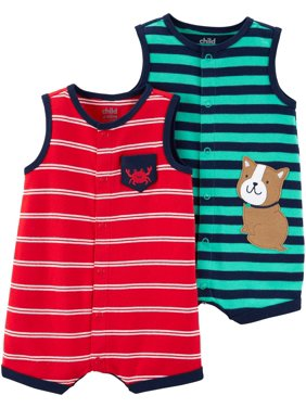 afeb772c2 Baby Boys Rompers   One-pieces - Walmart.com