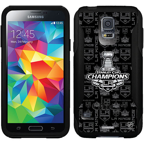 L.A. Kings Stanley Cup Champions '14 Design on OtterBox Commuter Series Case for Samsung Galaxy S5