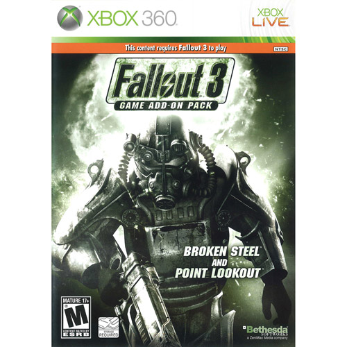 Fallout 3 Add On Broken Steel/Point Lookout (Xbox 360) - Pre-Owned
