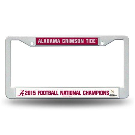 National Champions License Plate - Alabama Crimson Tide 2016 CFP Champions 12