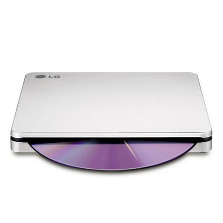 LG AP70NS50 DVD-Writer - Silver - DVD-RAM/±R/±RW Support - 24x CD Read/24x CD Write/24x CD Rewrite - 8x DVD Read/8x DVD Write/8x DVD Rewrite - Double-layer Media Supported - USB