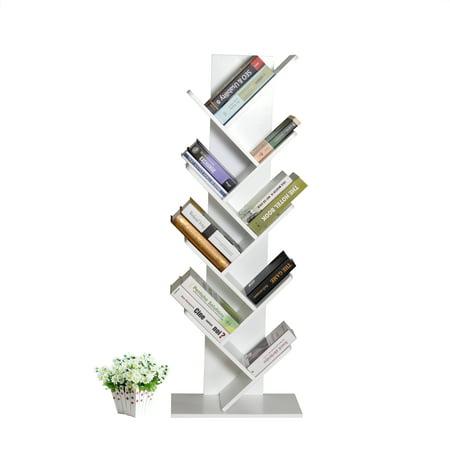 cds furniture. Tree Bookshelf Organizer 9-Shelf Bookcase Book Rack Display Storage  Furniture For Books,Magazines Cds Furniture 3
