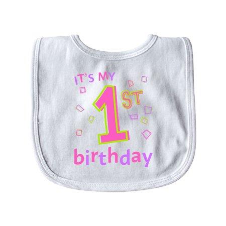 Its My First Birthday Baby Bib