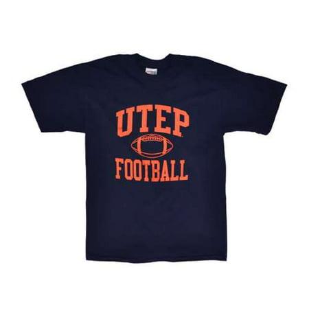 Texas El Paso Miners T-shirt - Football, Navy