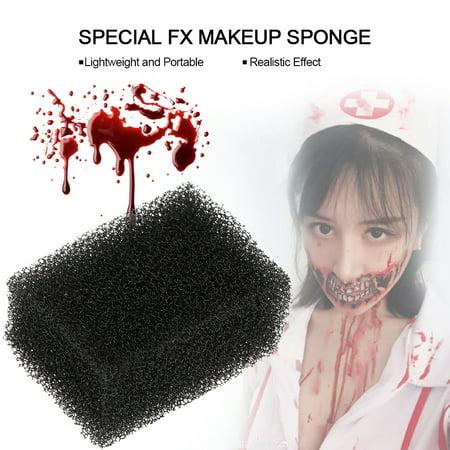 VBESTLIFE Xmas Special FX Blood Scar Stubble Effects Wound Makeup Stipple Sponge, Makeup Stipple Sponge, FX Makeup - Special Effects Halloween Makeup Uk