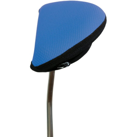 Stealth Golf Club Headcover for Oversized Mallet / 2 Ball Putter (Blue)