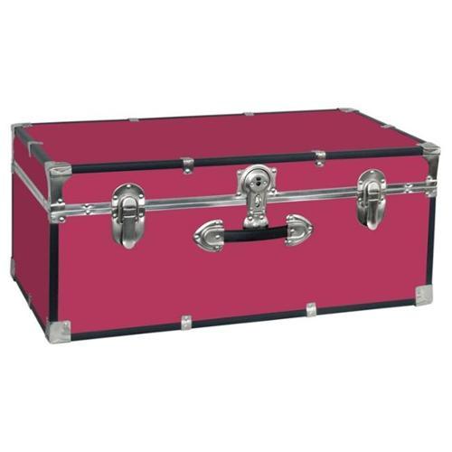 Seward Trunk 5120-30 Collegiate 30 inch Footlocker Trunk - Pink
