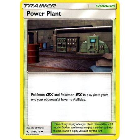 Pokemon Unbroken Bonds Power Plant #183 ()