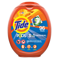 Tide Pods Original, Laundry Detergent Pacs, 96 ct.