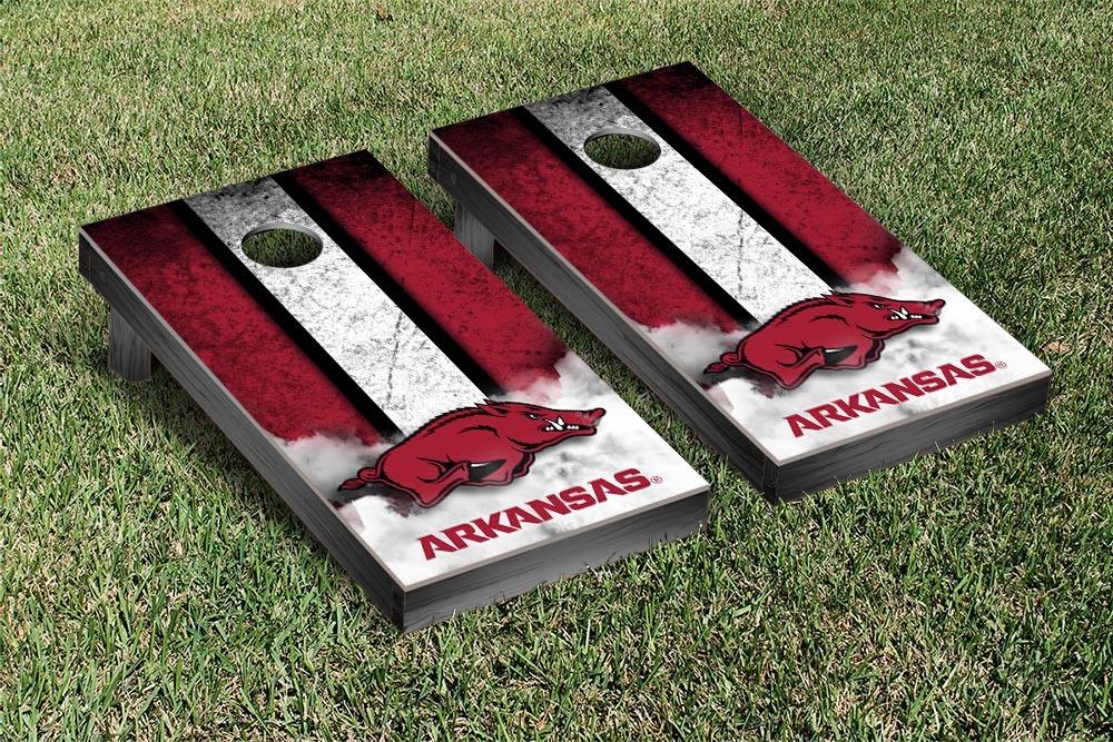 Arkansas Razorbacks Regulation Cornhole Game Set Vintage Version by Victory Tailgate