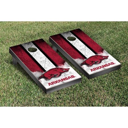 Arkansas Razorback Game (Arkansas Razorbacks Regulation Cornhole Game Set Vintage)