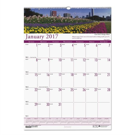 House of Doolittle Gardens of the World Monthly Wall Calendar, 12 x 16-1/2 HOD302
