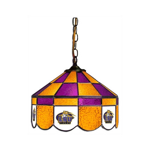 Wave 7 NCAA 14'' Wide Swag Hanging Lamp