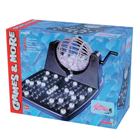 Simba Toys - Games and More Bingo Lottery Game