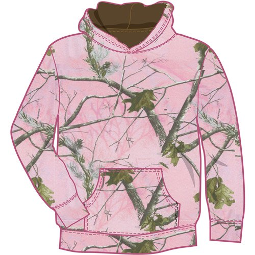 NWT WOMENS REALTREE CAMO W HOT PINK FLEECE HOODIE SWEATSHIRT S M Source ·  Girls Hoodie Pink Walmart com 1803e8d3d