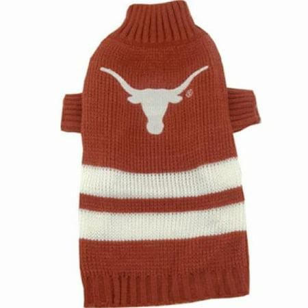 Texas Longhorns Dog Sweater - X-Small