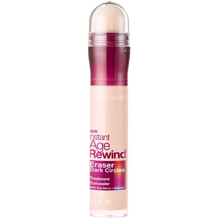 Maybelline Instant Age Rewind Eraser Dark Circles Treatment Concealer, Fair, 0.2