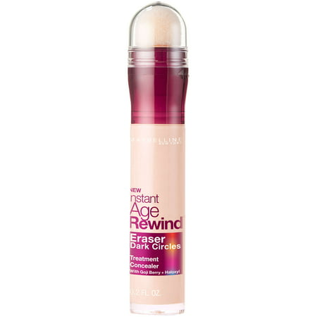 Maybelline Instant Age Rewind Eraser Dark Circles Treatment Concealer, Fair, 0.2 fl.