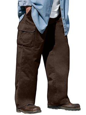 Boulder Creek Men's Big & Tall Renegade Cargo Pants With Side Elastic